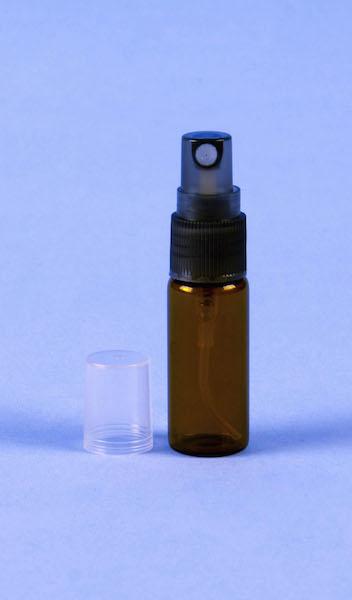Atomizador de vidrio ambar 5ml
