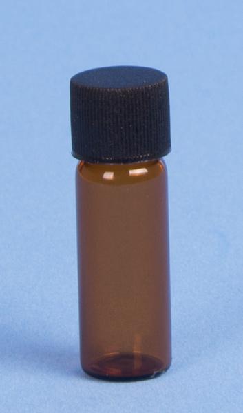 Envase de Cristal Ambar 4ml