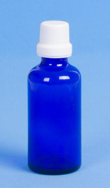 Gotero de Cristal Azul de 45ml